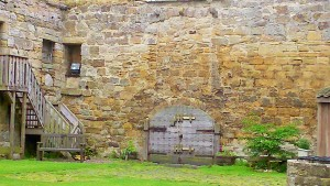 Gate at Balgonie Castle