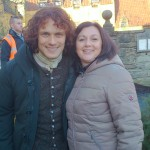 Andrea Middleton meets Sam Heughan