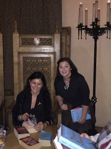 Diana Gabaldon at Stirling Castle