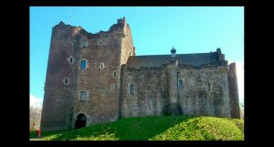 doune castle, outlander day tour, outlander one day tour, castle leoch, starfury gathering